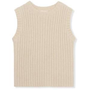 Bilde av penny knit vest - creamy white