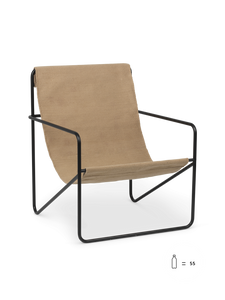 Bilde av Desert Chair - Black/Solid