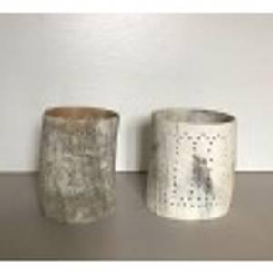 Bilde av Horn tealightholder nature M